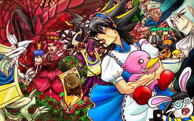 Yugioh 5Ds Yusei in Wonderland by slifertheskydragon
