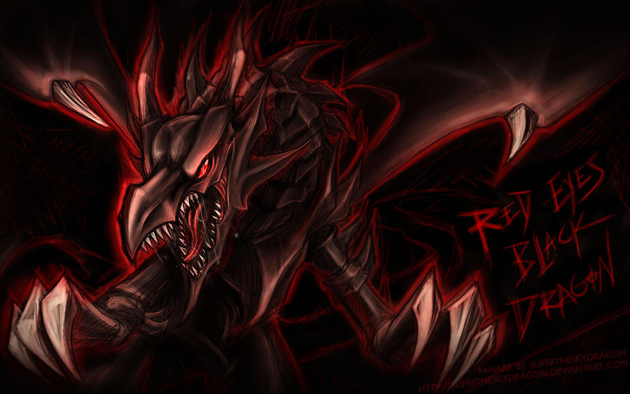 The gallery for --> Red Eyes Black Dragon Wallpaper