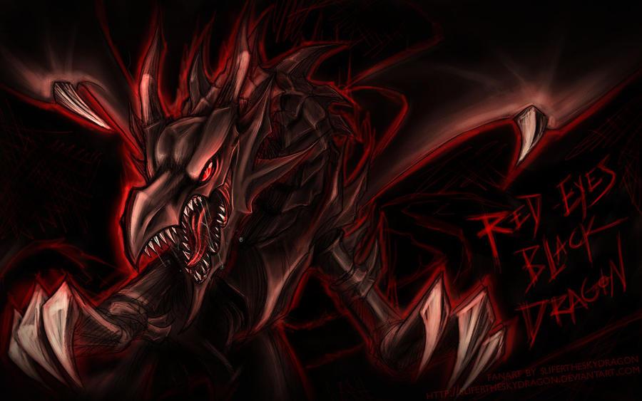 - Red Eyes Black Dragon - by slifertheskydragon on DeviantArt