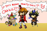 SO THIS MEAN PARTYTIME CAKE 8D