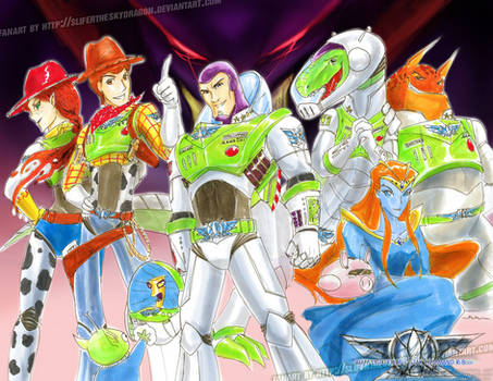 Buzz Lightyear of SC:Reboot by slifertheskydragon