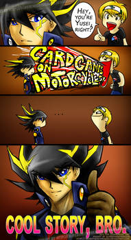 Yusei : My Anti-Virus by slifertheskydragon