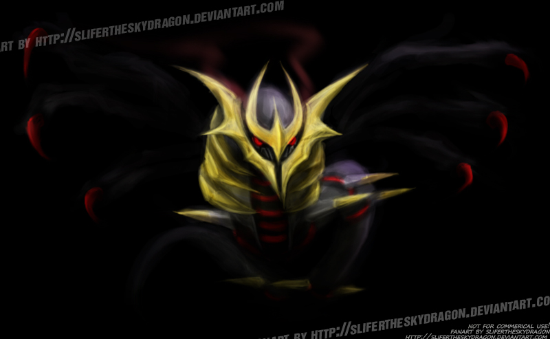 Giratina Origin Forme by slifertheskydragon on DeviantArt