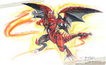 Scar Red Nova Dragon Playmat