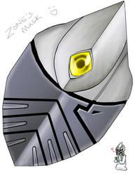 ZONE Mask by slifertheskydragon