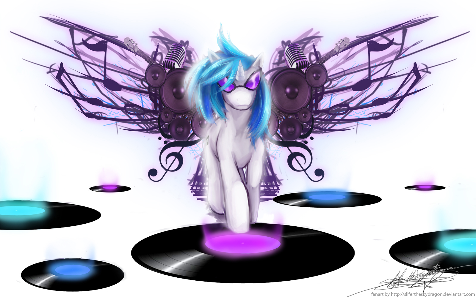 Mlp coloring pages dj pon 3 -  Dj Pon3 Ng5 By Slifertheskydragon