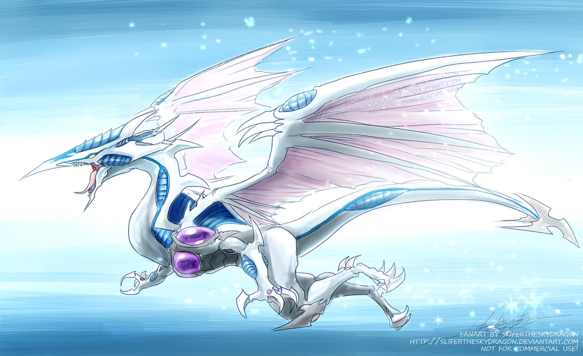 Stardust Dragon by slifertheskydragon