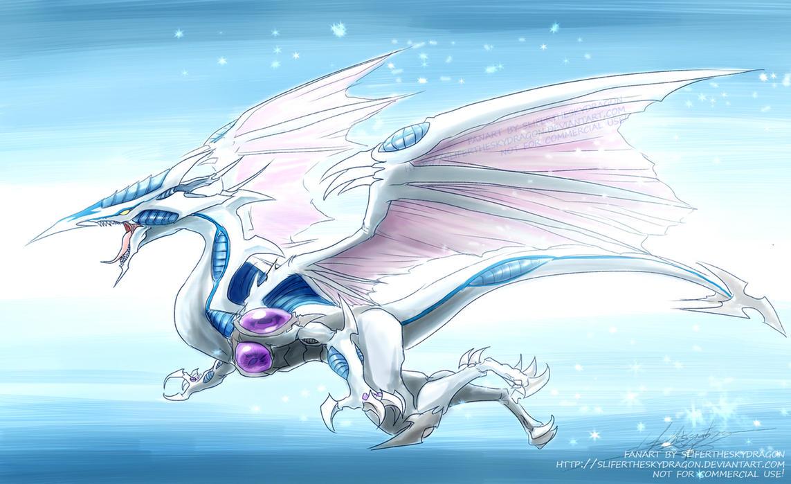 Stardust Dragon by slifertheskydragon