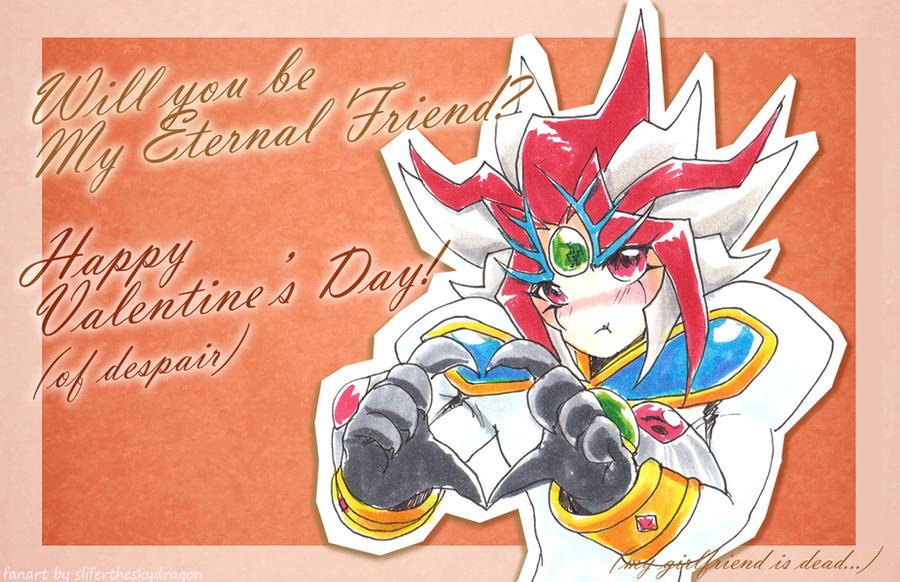 5D's Valentine - Eternal Friend Aporia by slifertheskydragon