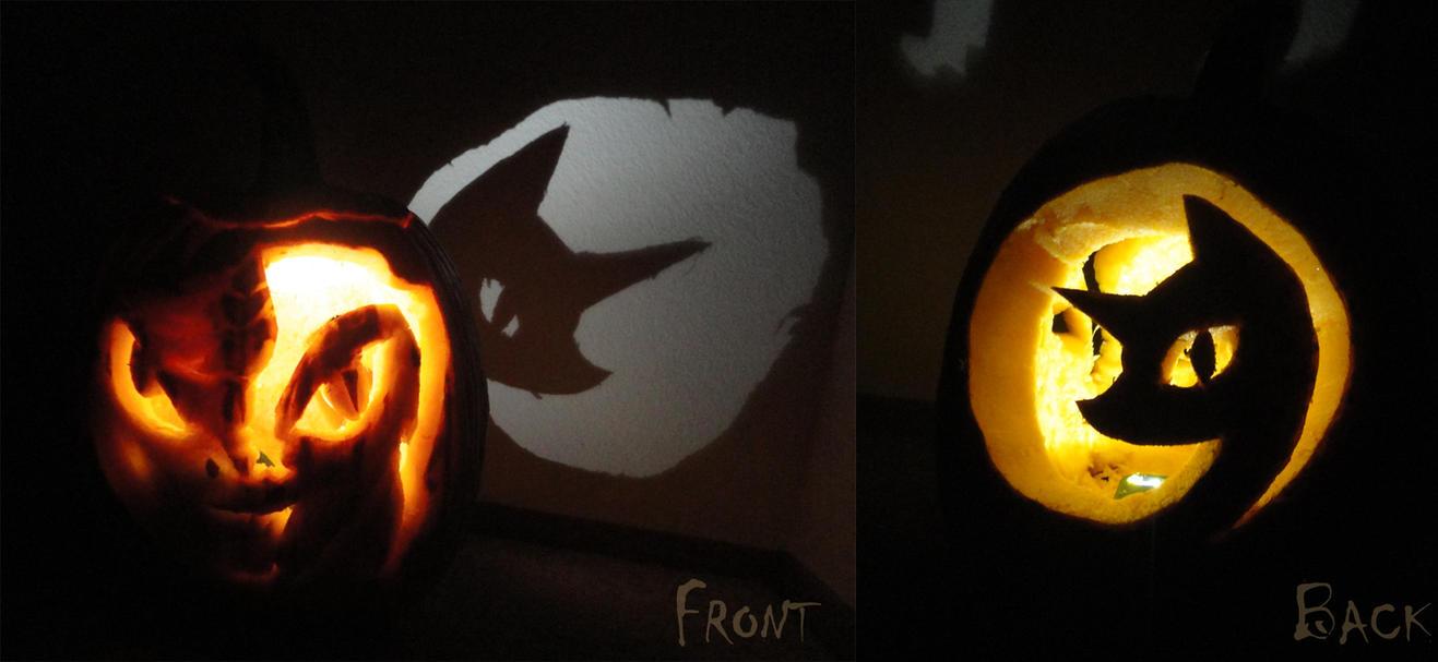 Nightmare Night Pumpkin by slifertheskydragon