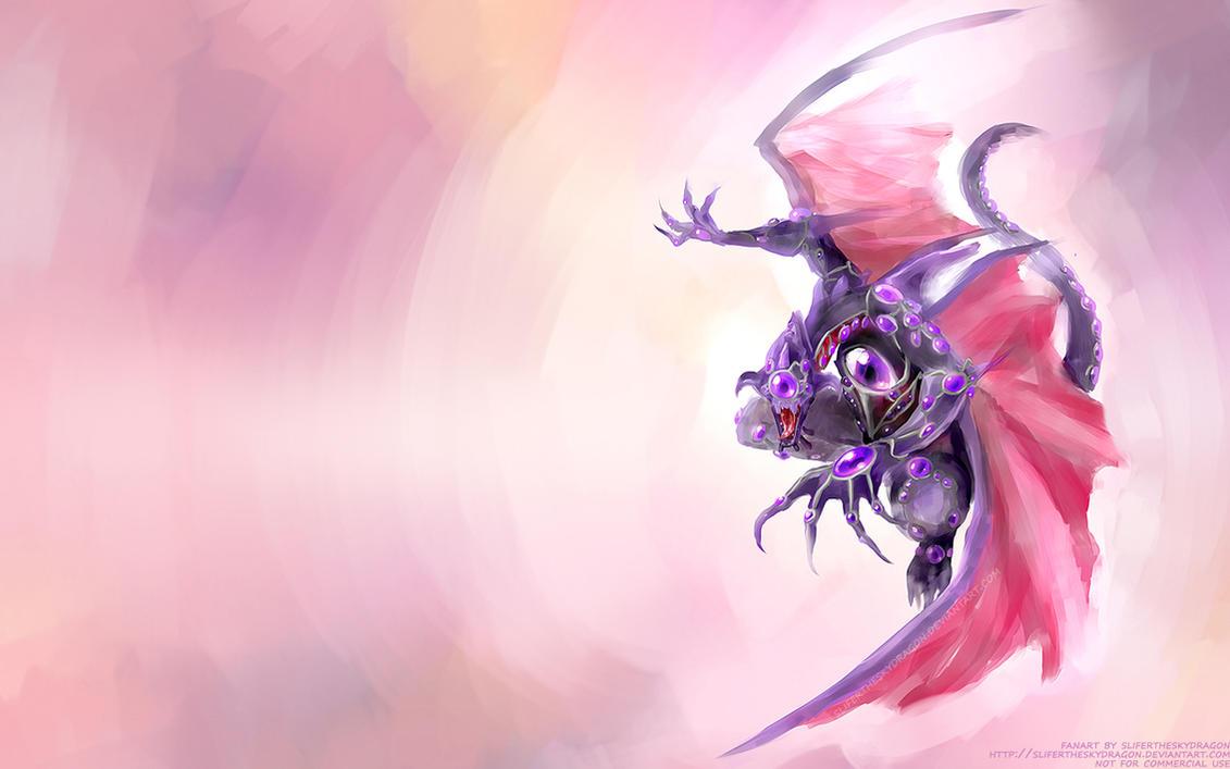 Hundred Eyes Dragon by slifertheskydragon