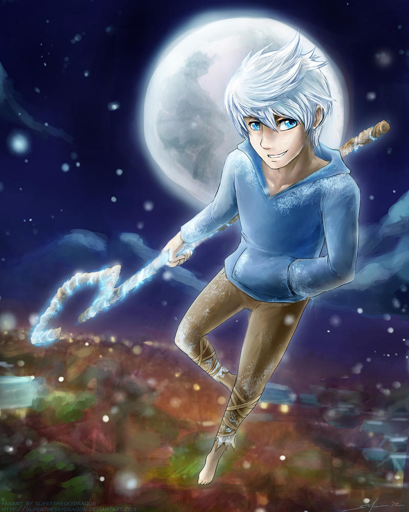 Jack Frost by slifertheskydragon