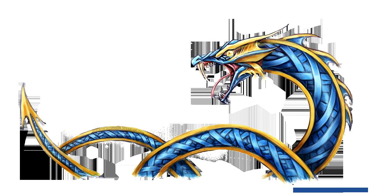 Jormungandr Sea Serpent Design by slifertheskydragon