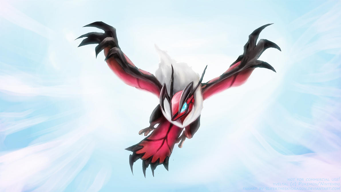pokemon x and y how to draw yveltal