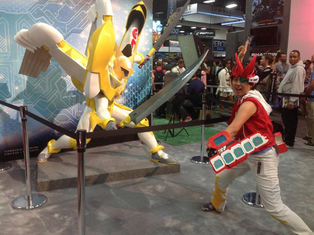 Yugioh ZEXAL at Comic Con by slifertheskydragon