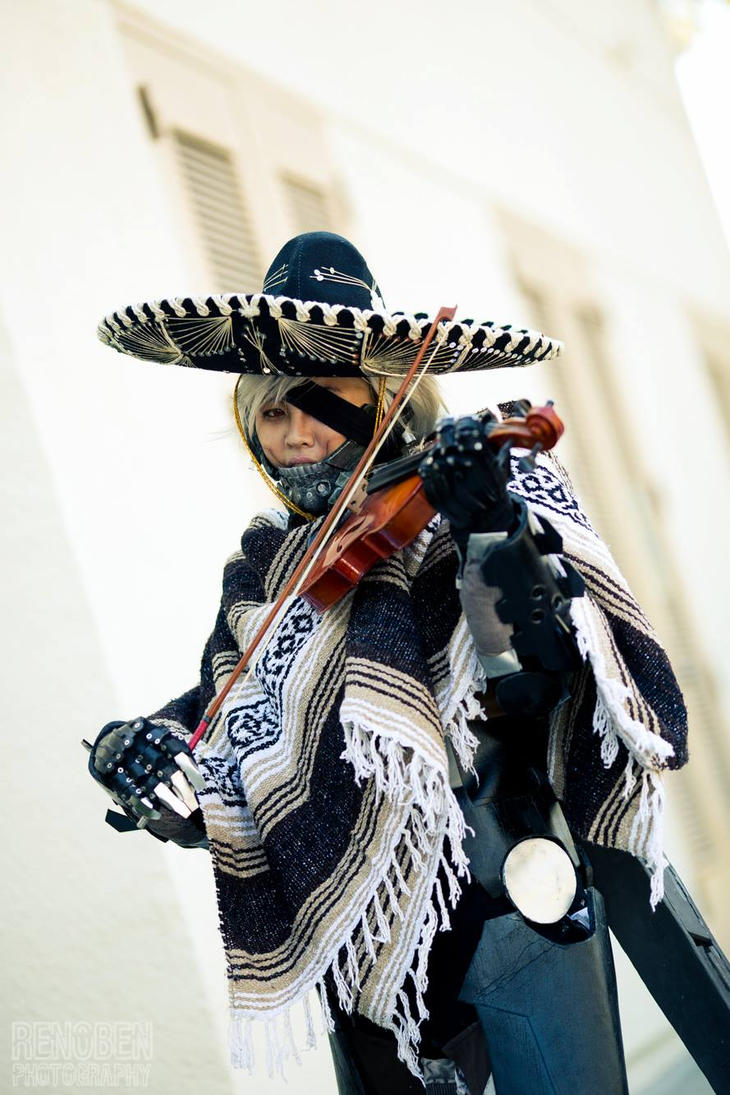 MGR:R Raiden Cosplay - Mariachi? by slifertheskydragon