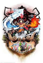 Avatar Wan by slifertheskydragon