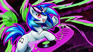 Vinyl Scratch - Let's Party!