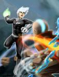 Avatar Aang vs Danny Phantom (redux)