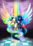 Princess Luna and Celestia - Harmony Wielders