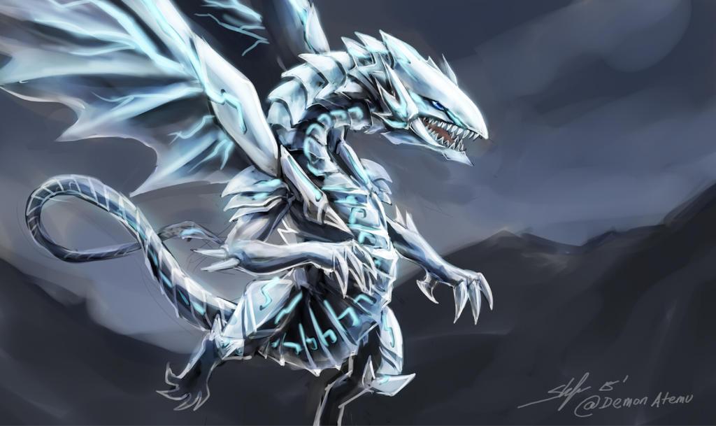 Yugioh 2016 movie - blue eyes white dragon by slifertheskydragon