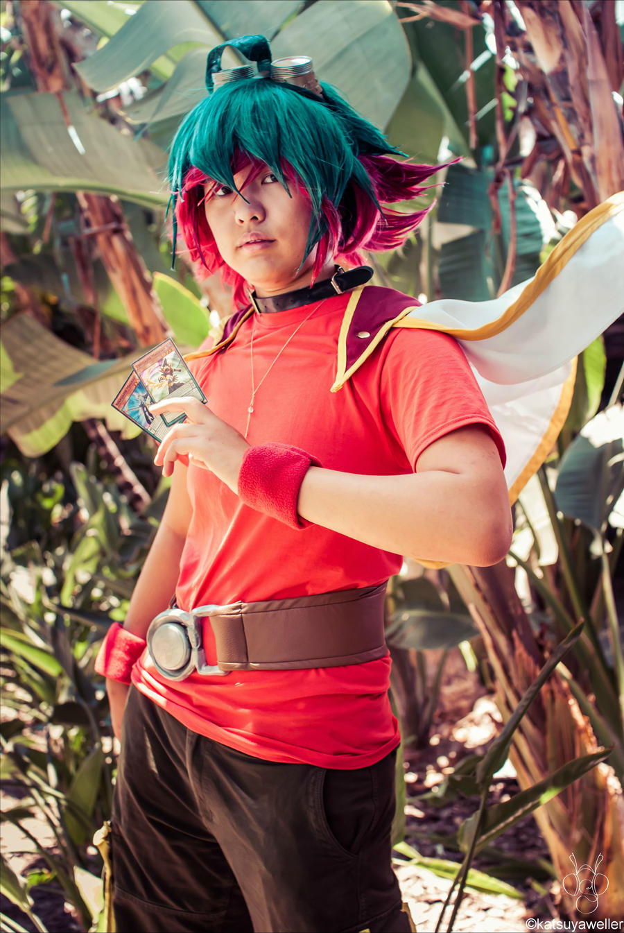 Yugi from Yu-Gi-oh! cosplay by instagram.com.yaboymegan. #