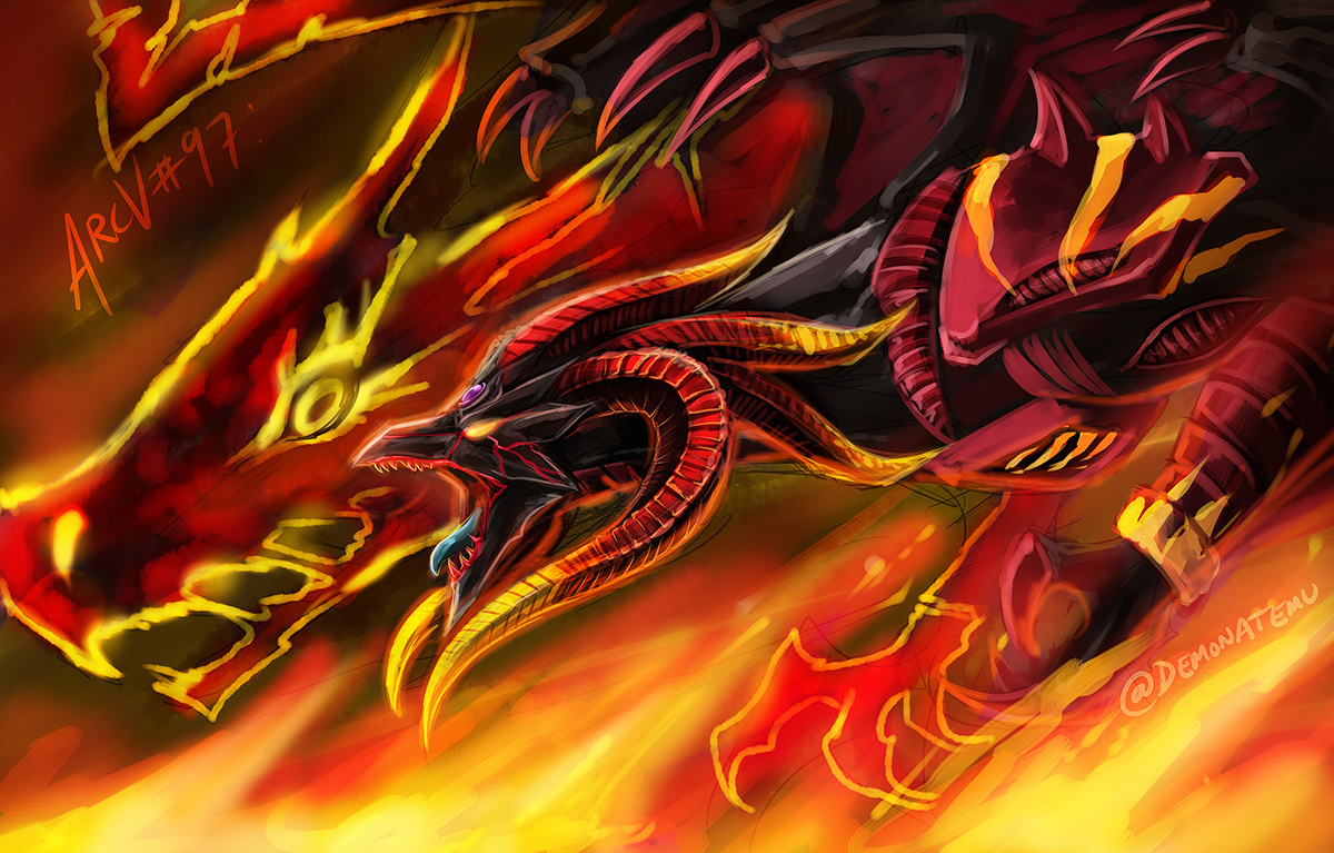 Red Demons Dragon Tyrant by slifertheskydragon on DeviantArt
