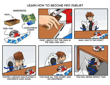 Learn how to become pro duelist