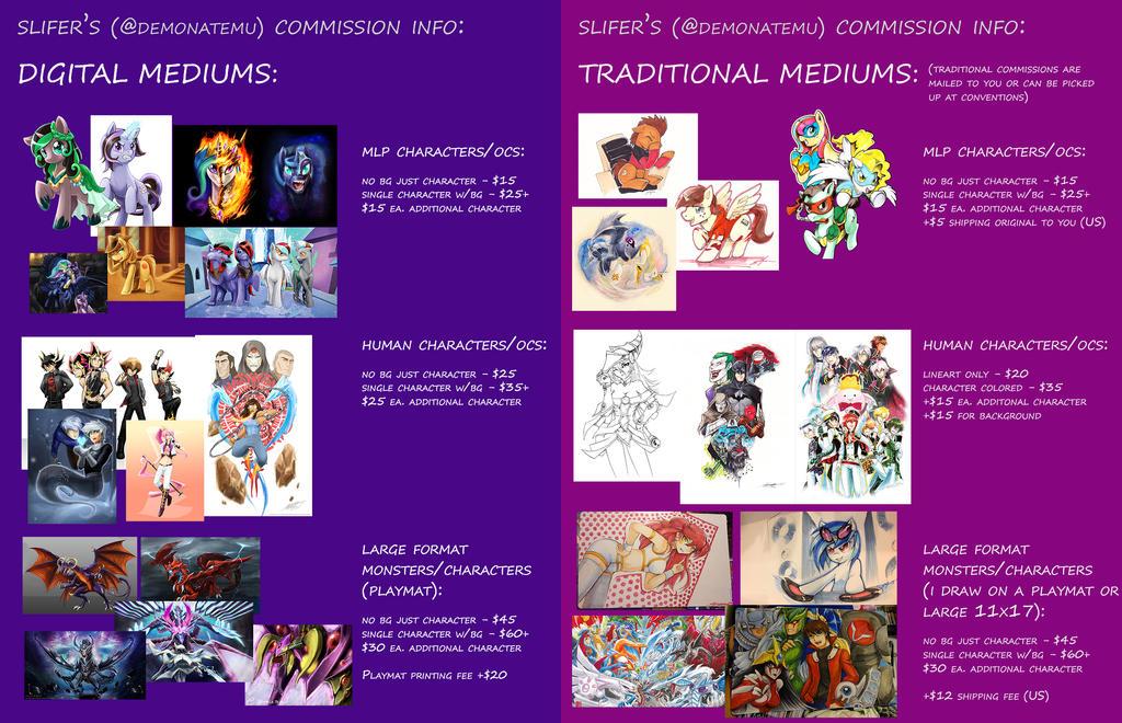 Commission Info by slifertheskydragon