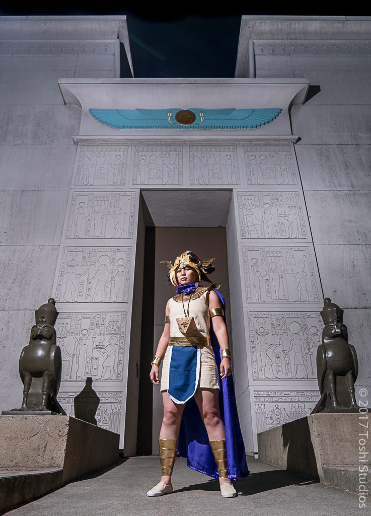 Yugioh Cosplay - Pharaoh Atem - Palace by slifertheskydragon