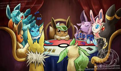 Eevee poker night