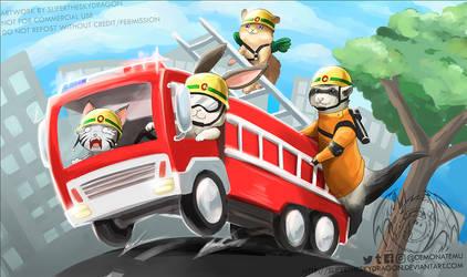 Rescue playmat