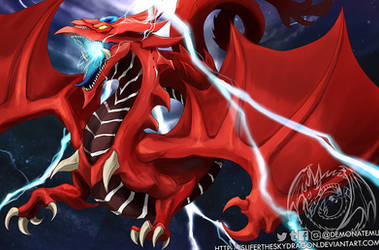 YGO Book of Dragons - slifer the sky dragon