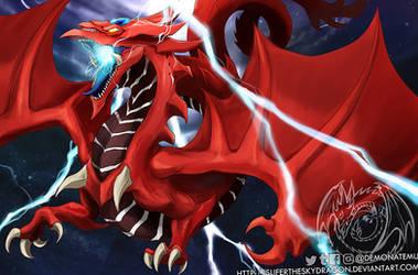 YGO Book of Dragons - slifer the sky dragon by slifertheskydragon