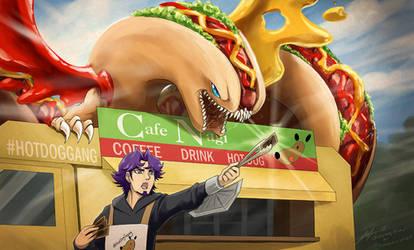 Yugioh VRAINS - blue eyes hot dog dragon