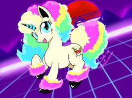 My little Galarian Ponyta