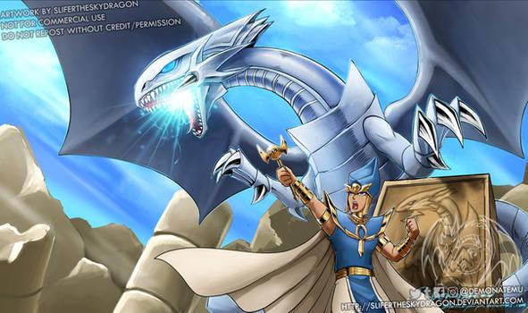 Blue Eyes White Dragon + Priest Set (Feb. Patreon)