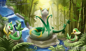 Pokemon Go Community Day Snivy [Patreon April]