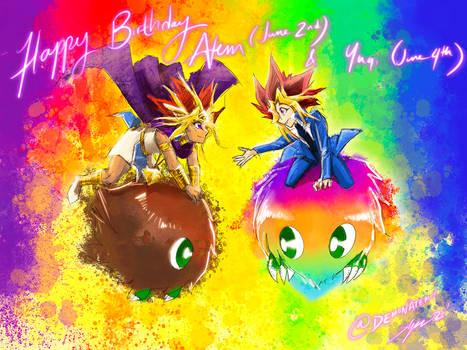Happy Birthday Atem + Yugi 2021