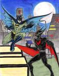 Batman Beyond v Batman