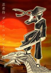 Danny Phantom: Ninja by slifertheskydragon