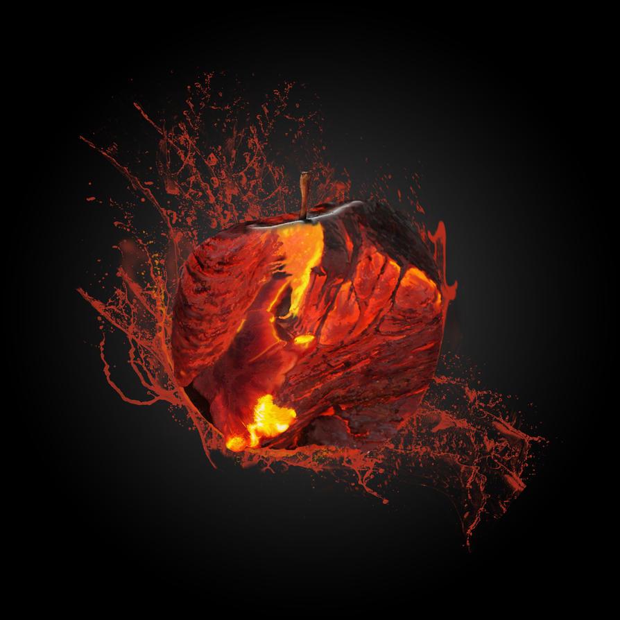 Magma Apple by Drakenkaizer