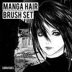 MANGA HAIR BRUSHES | CLIP STUDIO PAINT