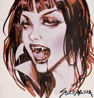 Vampirella Sketch