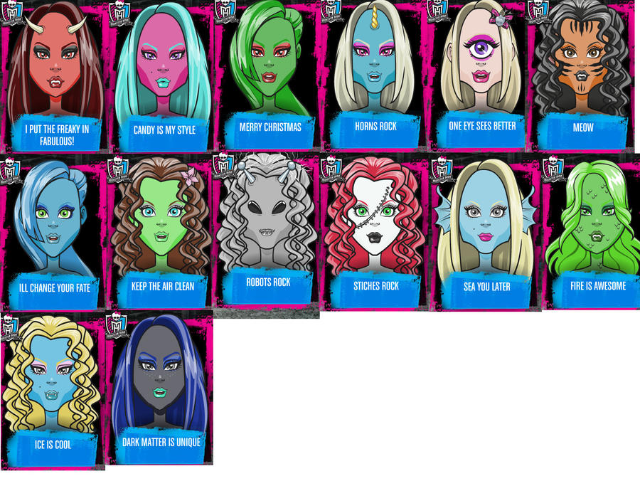 characters of monster high