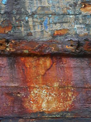 Rusty boat by natdiastock