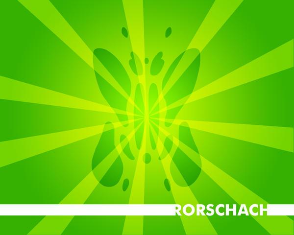 Simple Rorschach Wallpaper