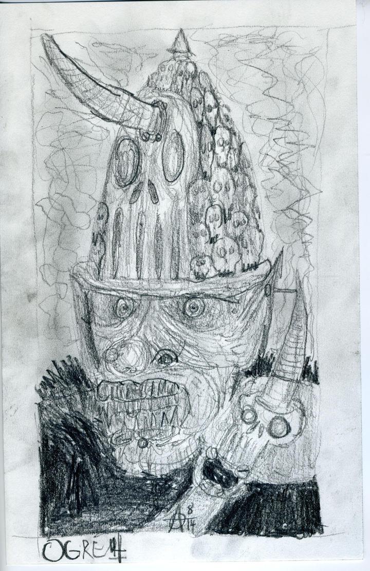 Ogre by MrAdam