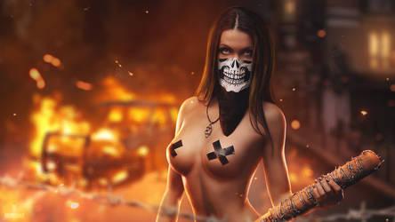 She is dangerous (wallpaper version)