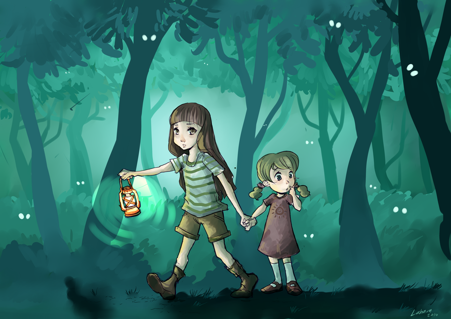 Misty Forest by Lahara